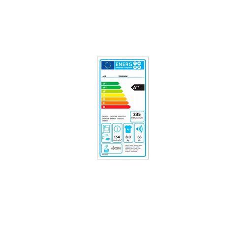 Condensatiedroogkast met warmtepomp AEG T8DBE84W