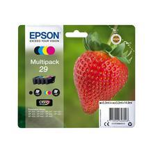 Lot de 4 cartouches d'encre couleur EPSON T298640 4PACK