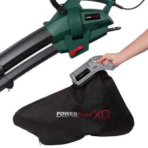 Aspirateur & souffleur électrique 4 en 1 POWERPLUS POWXQG5030