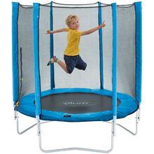 Plum Jr trampoline diam.140cm Trampoline Plum junior met net blauw