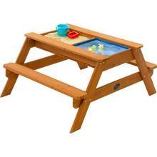 Plum zand-waterbak en picknicktafel Zand en water speeltafel Plum Surfside