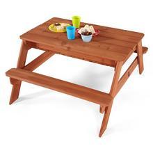 Zand en water tafel Plum hout Zand- en picknicktafel Plum hout