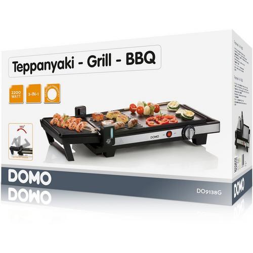 Teppanyaki/gril/barbecue DOMO DO9238G