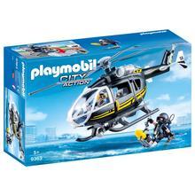 PLAYMOBIL® 9363 Hélicoptère et policiers d'élite de PLAYMOBIL
