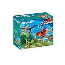 PLAYMOBIL® 9430 Hélicoptère et Ptéranodon