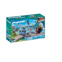 PLAYMOBIL® 9433 Luchtkussenboot met dinokooi