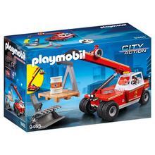 PLAYMOBIL® 9465 Pompier avec véhicule et bras télescopique  de PLAYMOBIL