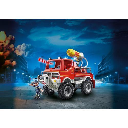 PLAYMOBIL® 9466 Brandweer terreinwagen met waterkanon