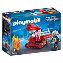 PLAYMOBIL® 9467 Pompier avec robot d'intervention de PLAYMOBIL