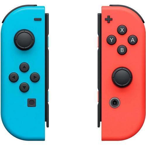 Lot de 2 manettes Joy-Con pour Nintendo Switch (rouge/bleu)