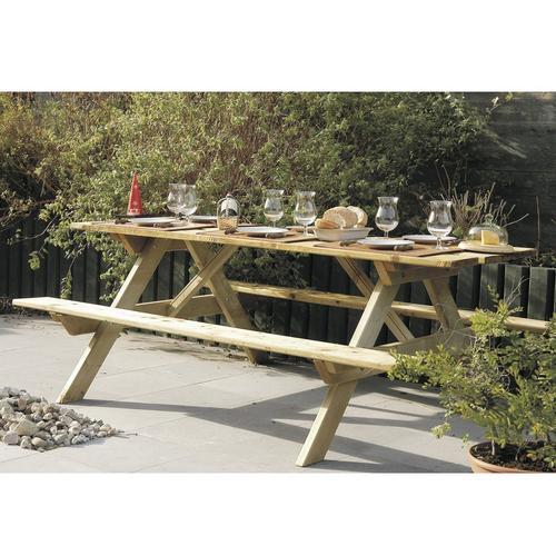 Table de pique-nique SOLID