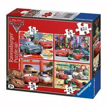 4 puzzels Cars 2 RAVENSBURGER