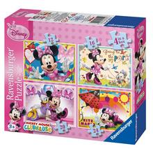 Lot de 4 puzzles Minnie Mouse Clubhouse RAVENSBURGER