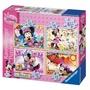 Lot de 4 puzzles Minnie Mouse Clubhouse RAVENSBURGER