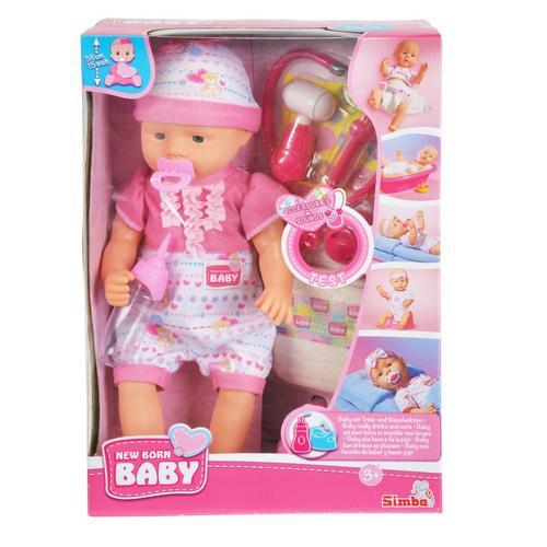 New Born Baby avec set de docteur SIMBA TOYS