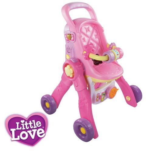 Little Love 3-in-1 poppenwagen VTECH