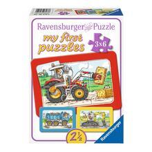 Mijn eerste puzzel Machines RAVENSBURGER