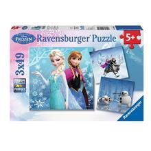 Lot de 3 puzzles Aventure au pays des neiges RAVENSBURGER