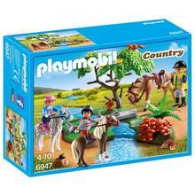 PLAYMOBIL® 6947 Cavaliers avec poneys et cheval de PLAYMOBIL