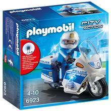 PLAYMOBIL® 6923 Moto de policier avec gyrophare