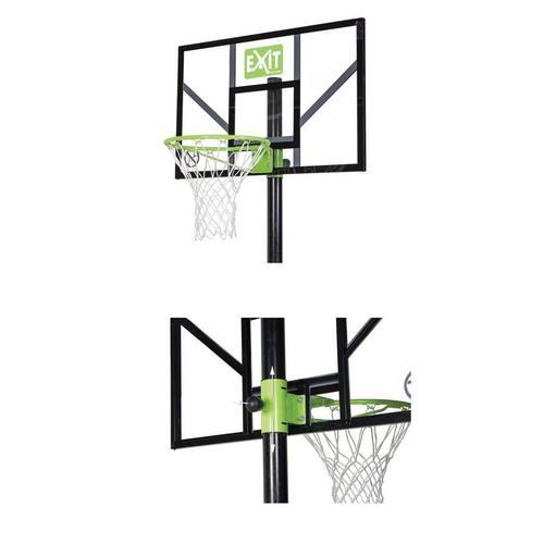 Verplaatsbare basketbalpaal met dunkring EXIT