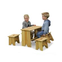 Picknicktafel en bankjes Junior Extra Large EXIT