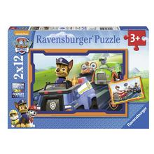 Lot de 2 puzzles La Pat'Patrouille RAVENSBURGER