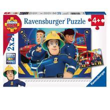 Lot de 2 puzzles Sam le Pompier RAVENSBURGER