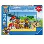 Lot de 2 puzzles La Pat' Patrouille RAVENSBURGER