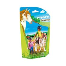PLAYMOBIL® 9258 Monitrice d'équitation de PLAYMOBIL