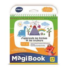MagiBook Livre - j'apprends les formes et les couleurs VTECH