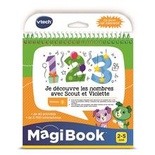 MagiBook - Cijfers ontdekken met Scout & Violet VTECH