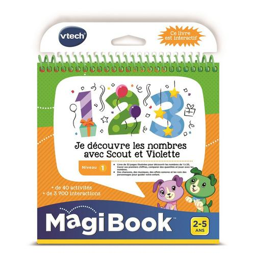 MagiBook Livre - Je découvre les nombres avec Scout et Violet VTECH