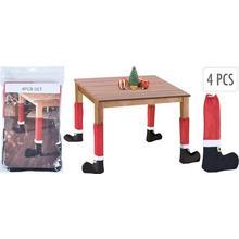 Lot de 4 housses pour pieds de table