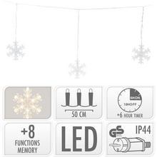 Éclairage LED Flocons de neige