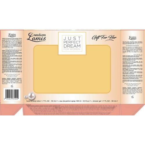 Coffret cadeau pour elle Just Perfect Dream