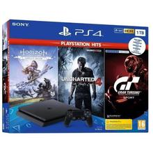 Console PS4 SLIM 1 To + 3 jeux