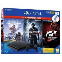 PS4 console SLIM 1 TB + 3 games
