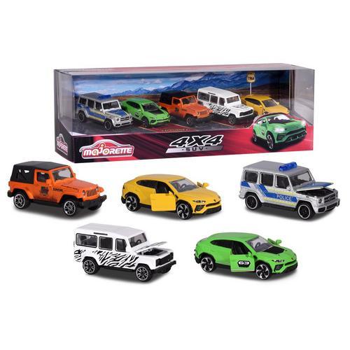 5-delig cadeaupack SUV MAJORETTE