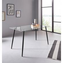 MY HOME table en verre Danny, Largeur 140 cm