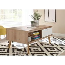 ANDAS table basse Merle, de design scandinave, hauteur 46 cm