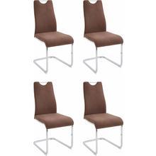 HOMEXPERTS chaise de salle à manger Zabona, lot 4, (2 ou 4 pièces)