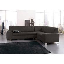 DOMO COLLECTION canapé d'angle Alisson, au choix avec fonction lit