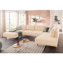 HOME AFFAIRE U-salon Lasse, In Scandinavische stijl met houten poten
