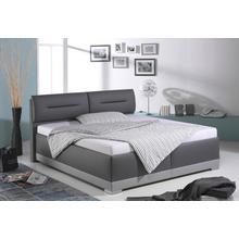 MAINTAL lit rembourré, avec des éléments de tête réglables