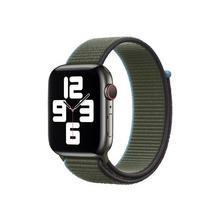 APPLE 44mm Sport Loop - Bracelet de montre pour intelligente taille Regular vert inversé Watch (42 mm, 44 mm)