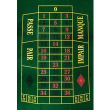 Tapis de Roulette 130x90cm