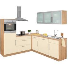 WIHO KUCHEN cuisine d'angle Aachen, sans appareil électrique, largeur de pose 210x 220 cm