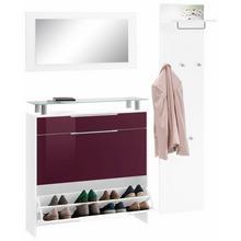 BORCHARDT MOBEL set pour garde-robe Oliva, lot de 3, armoire à chaussures suspendue