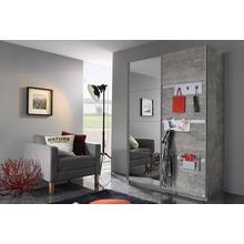 RAUCH kast met zwevende deuren Steinheim, praktische metalen inhangelementen